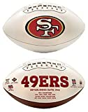 NFL San Francisco 49ers Signature Series Team Full Size Footballs