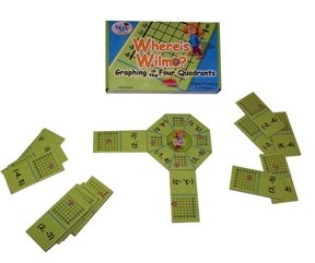 "Learning Advantage 4524 ""Where's Wilma?"" Game, Grade: 5, 6.5"" Height, 1.5"" Width, 4"" Length - 1"
