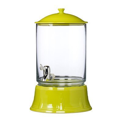 2 Gallon Beverage Dispenser Color: Lemongrass (Fiesta Beverage Dispenser compare prices)
