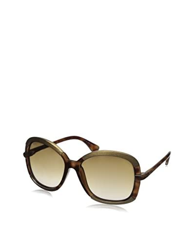 Tod's Women's TO000152F Sunglasses, Brown