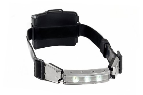Foxfury 480-006 Discover Fire Led Helmet Light/Headlamp With Silicone Strap, 120 Lumens