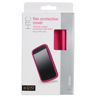 T-Mobile D30 Htc One S 4G (Only From T-Mobile) Flex Protective Cover Case Skin Shell D3O Ultimate Impact Protection For Tmobile Htc One S D-30 Tech 21 Hot Pink