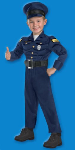 Deluxe Police Officer Costume