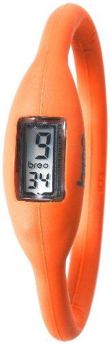 Breo Unisex PU-BR10264 Sport Roam Medium (17cm) Orange Rubber Watch