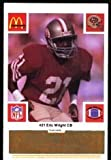 img - for San Francisco 49ers McDonald's 1986 Football Cards (Gold Tab) 111 Cards book / textbook / text book