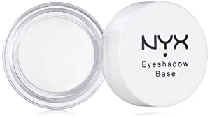 NYX Cosmetics Eye Shadow Base, White, 0.21 Ounce