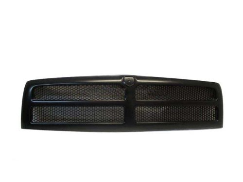 94-01 00 99 98 97 DODGE RAM 1500 2500 PICKUP GRILLE BLK (Dodge Ram 2500 Grill Emblem compare prices)