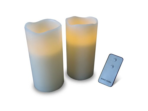 Thumbs Up! Remote Control Candles, Set Of 2