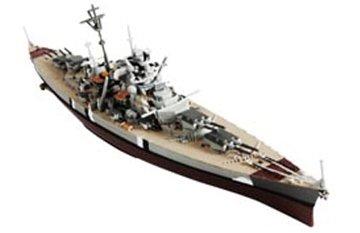 Unimax Forces of Valor 1/1000 German Battleship Bismarck (Poland 1941) Assembled Diecast Ship Model