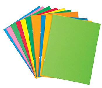 Hygloss Products Inc. HYG77640 Mini Bright Books pack of 10 assorted colors - 1