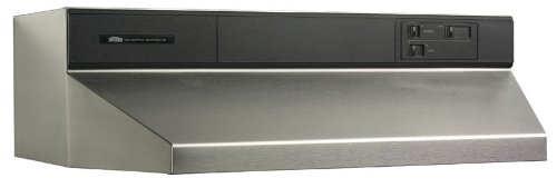 Broan 884804 Under Cabinet 48-Inch Range Hood, Stainless Steel