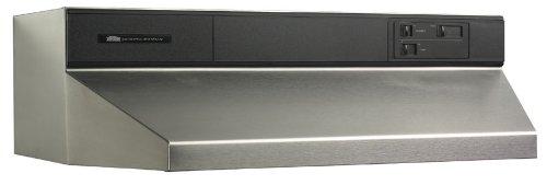 Broan 883004 Under Cabinet 30-Inch Range Hood, Stainless Steel