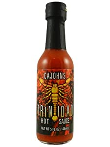 Cajohns Trinidad Scorpion Hot Sauce