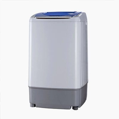 Small Compact Portable Apartment Washing Machine Fully Automatic 6.6lbs Washer Mar30