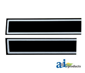 A & I Products Hood Decal Replacement For Case-Ih Part Number Hc255
