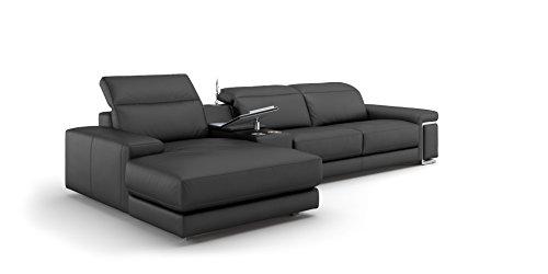 Designer leder sofa eckcouch sofagarnitur xxl big ecksofa for Designer eckcouch leder