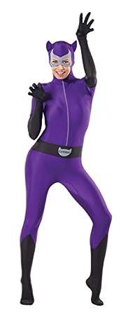 Rubie's Costume Women's Dc Comics Superhero Style Catwoman Bodysuit, Multicolor, Small