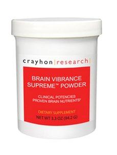 Crayhon Research - Brain Vibrance Supreme Powder 108 gms [Health and Beauty]