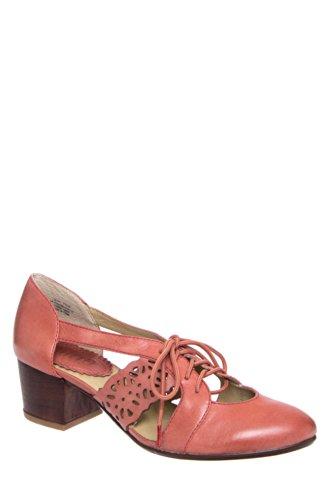 Latigo Mary Mid Heel Almond Toe Shoe