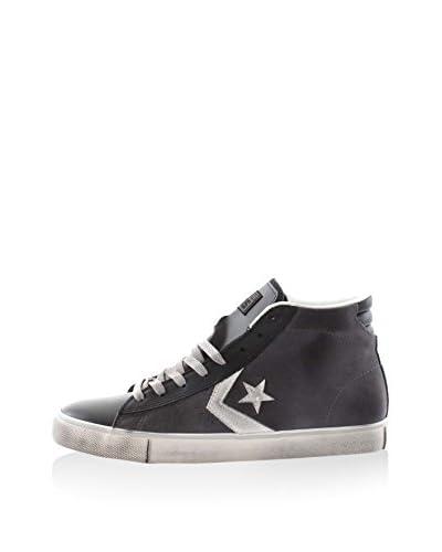 Converse Zapatillas abotinadas Pro Leather Vulc Mid Suede Gris / Negro
