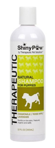 Shiny Paw® All-Natural Therapeutic Shampoo For Puppies - 12 Oz front-645581