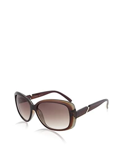 Calvin Klein CWR667S-204 Square Sunglasses, Brown