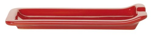 Emile Henry- Classics Cerise Spoon Rest 8.75X4-In.