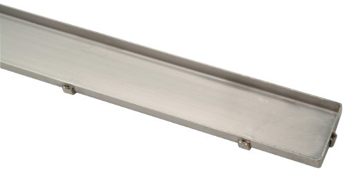 Zs880 40 Stainless Steel Linear Shower Drain End Outlet