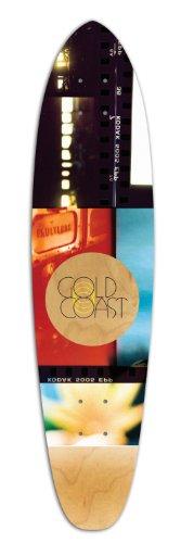 Gold Coast Roller (Fiber Glass) Longboard Deck, Hour