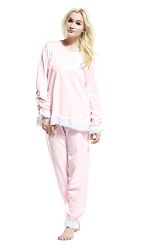 Pink -  Pigiama due pezzi  - Donna 16-61035Pink Small