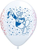"Pioneer Balloon Company 25 Count Mickey and Pals Latex Balloons, 11"", White"