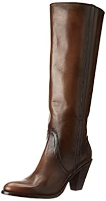 FRYE Women's Mustang Pull-On Boot, Fawn, 5.5 M US