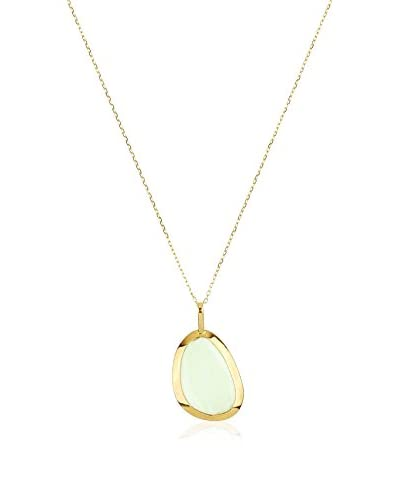 GOLD & DIAMONDS Set catenina e pendente oro giallo 18 Kt
