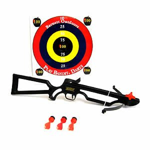 New Barnett Crossbows Bandit Toy Crossbow Soft suction cup safety darts Durable constructionNew Barnett Crossbows Bandit Toy Crossbow Soft suction cup safety darts Durable construction