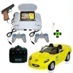 Kids Combo - Tv Video Games + Super Power Racing Sports Car
