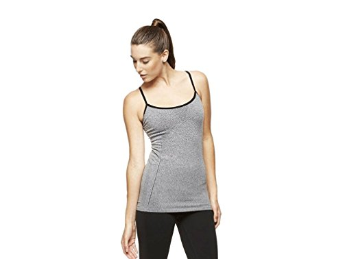 Alo Yoga Tank Top Stormy Heather/Black (Small) (Alo Tank Top compare prices)