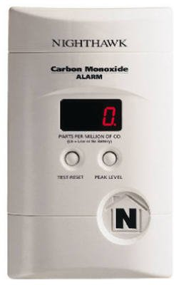 Kidde Nighthawk Plug-In Carbon Monoxide Alarm with Battery Backup and Digital Display by Kidde