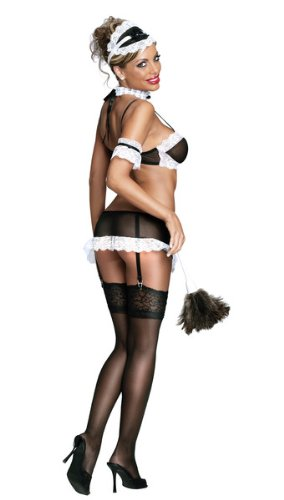 Magic Silk - Costumes - Frenchie - S/M (Case of 1)