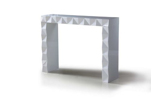 Cheap Eva – White Lacquer Modern Console Table (VGDVLS207)