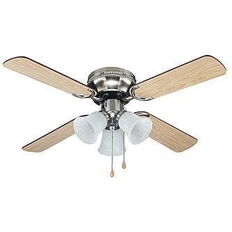 Cool~Breeze 42IN BRUSHED NICKEL CEILING FAN (Selling Fan compare prices)