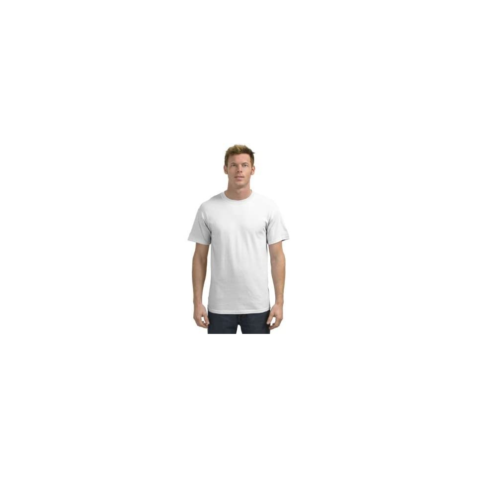 1 dozen white Gildan   Heavy Cotton 100% Cotton T Shirt. Size m
