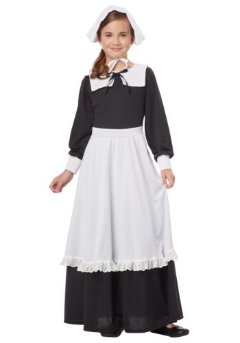 Pilgrim Girl Costume