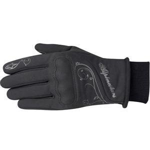 Alpinestars Stella C1 Windstopper Womens Gloves , Gender: Womens, Distinct Name: Black, Size: Sm, Primary Color: Black, Apparel Material: Leather 3530011-10-S