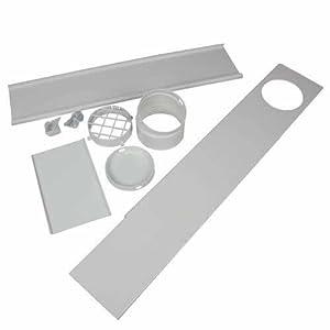 Edgestar Upgraded Portable Ac Vent Kit For Sliding Glass