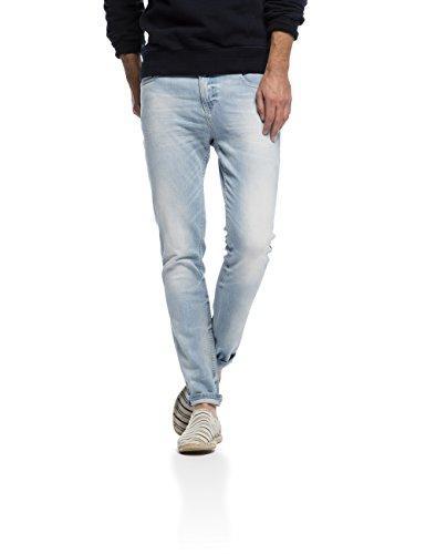 Scotch & Soda Skim - Sundrench Stretch-Pantaloni Uomo,    Blu (denim blue 48) 32 W / 32 L