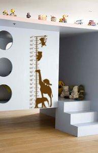 Vinyl Wall Art Decal, Sticker, Growth Chart