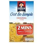 Quaker Oats Oat So Simple Original Porridge 12 X 27G