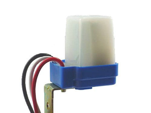 防水 加工 光 センサー スイッチ AC DC 12V 街路灯などの自動制御 配線図説明書付き (2個セット)