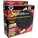 Dap Xhose PRO The Original Expanding Hose with Black Solid Brass Fittings, 50-Feet X Hose (50 Ft. Xhose)
