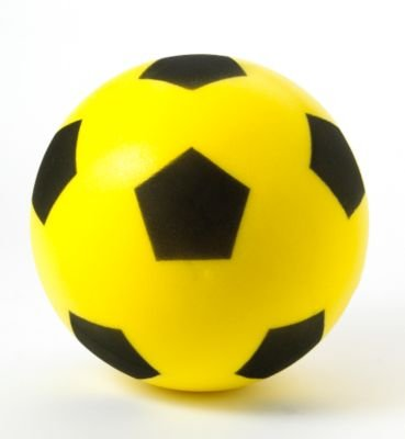 Sponge Football - Size 5 - Yellow